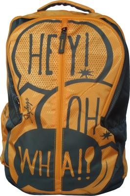 e4054a178 Skybags Pogo Plus 02 Orange 25 L Backpack(Yellow) on Flipkart   ePrice
