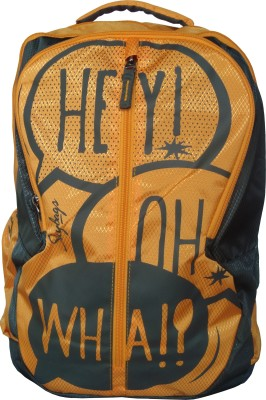 Skybags Pogo Plus 02 Orange 25 L Backpack(Multicolor)