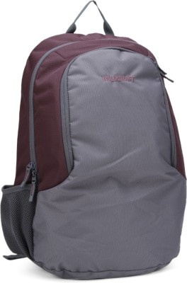 Wildcraft Climber Purple 30 L Medium Backpack(Grey, Purple)