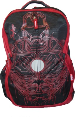 Skybags SB Marvel Plus Iron Man 03 Black 25 L Backpack(Red)