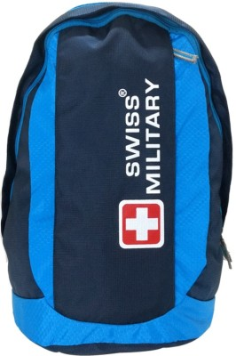 Swiss Military Polyester Laptop Backpack LBP22 30 L Laptop Backpack Blue Swiss Military Backpacks