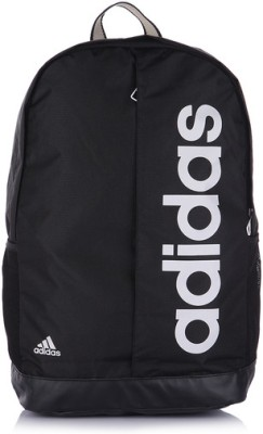 ADIDAS Lin Per Bp 22 L Medium Backpack(Black, White)  available at flipkart for Rs.768