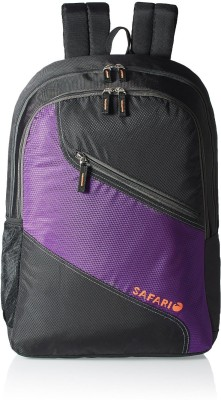 Safari SWING 25 L Backpack(Black, Purple)