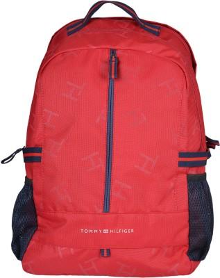 6df1a6a5c4 50% OFF on Tommy Hilfiger Biker Club Alaska 23.6 L Medium Laptop Backpack( Red, Black) on Flipkart   PaisaWapas.com