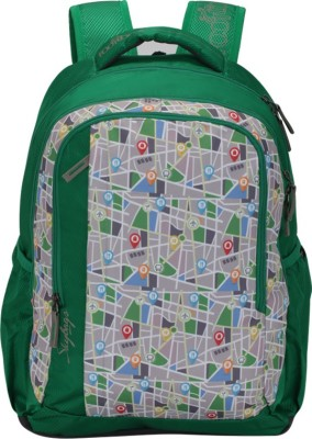 Skybags Footlose Helix 03 Green 26 L Backpack(Multicolor)