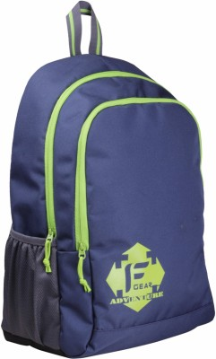 F Gear Castle - Rugged Base 20 L Backpack(Blue, Green)