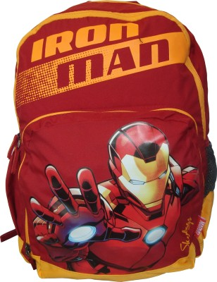Skybags Sb Marvel Champ Iron Man 02 Red 25 L Trolley Backpack(Multicolor)  available at flipkart for Rs.1215