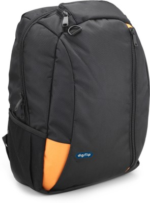 DigiFlip Slick LB001 Laptop Bag For 15.6 inch Laptop(Orange)