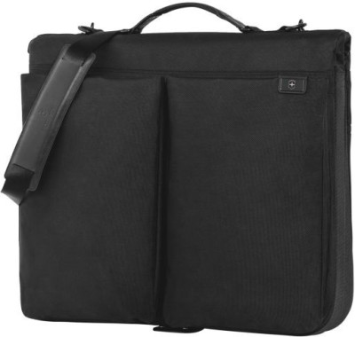 Victorinox Lexicon™-PAGE Shoulder Bag(Black, 34 L) at flipkart