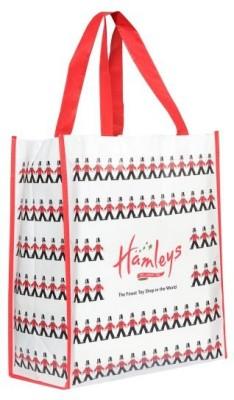 hamleys London Shopper Bag Waterproof Multipurpose Bag(Multicolor, 15 inch)  available at flipkart for Rs.179