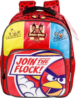 Angry Birds AB0073 School Bag(Red, 14 inch)