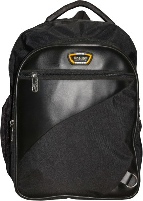 82% OFF on One Up Expandable Smart Black School Bag Waterproof School Bag (Black ac9af9727fddd