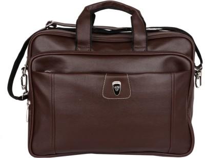Sapphire 15 inch Laptop Messenger Bag Brown