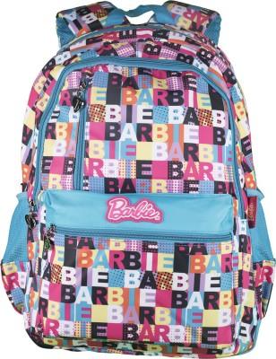 Barbie Multiprint Waterproof School Bag(Multicolor, 19 inch)