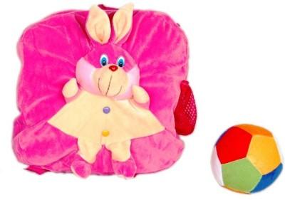 Chiku'N'Cherry cc03 School Bag(Pink, 8 inch)