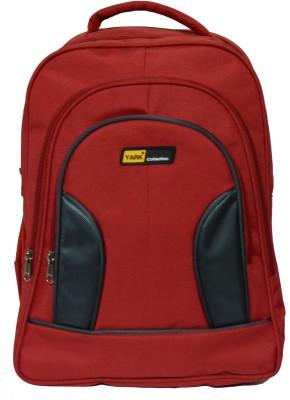 YARK Collection 124 Waterproof School Bag Red, 15 inch YARK Bags, Wallets   Belts