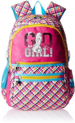 Barbie MBE-MAT093 Waterproof School Bag(Multicolour, 19 inch)