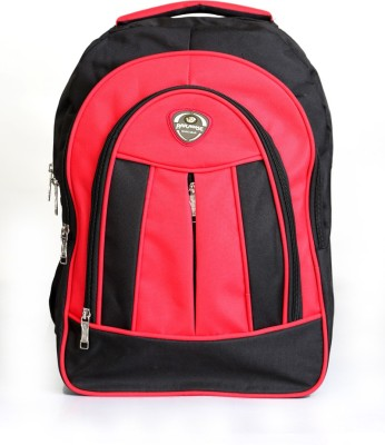 Paradise School Bag Waterproof School Bag(Black, Red, 9 L)  available at flipkart for Rs.590