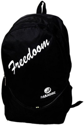 Paradise school bag Waterproof School Bag(Black, 28 L)  available at flipkart for Rs.445