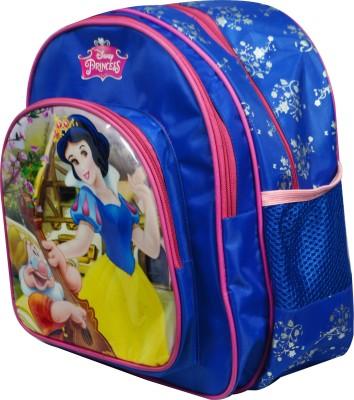 Disney Fairness Land School Bag(Blue, 18 inch)