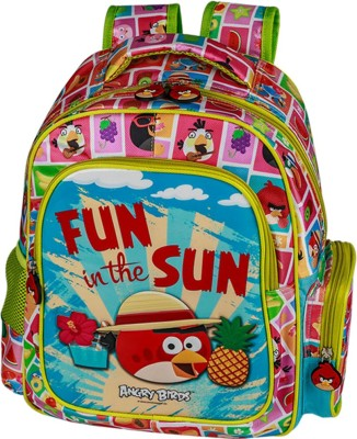 Angry Birds EI - AB0076 Waterproof Backpack(Multicolor, 14 inch)
