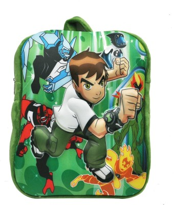 Hawai Ben 10 School Bag(Green, 14 inch)  available at flipkart for Rs.349