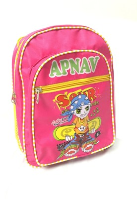 Apnav Waterproof Backpack(Pink, 13 inch)