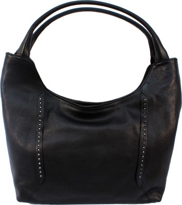 A&T London Shoulder Bag(Black, 15 inch)