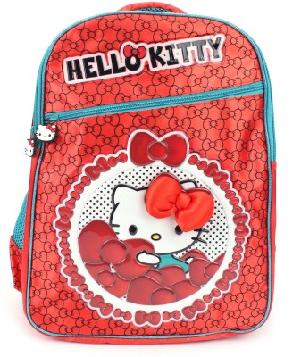 Hello Kitty by  Bag School Bag(Red, 18 inch)