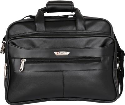 Sapphire 15 inch Laptop Messenger Bag Black Sapphire Laptop Bags