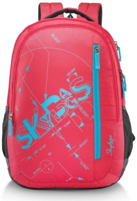 Skybags Pixel Plus 03 32 L Backpack(Red)