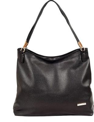Lino Perros Shoulder Bag(Black, 3 L) at flipkart