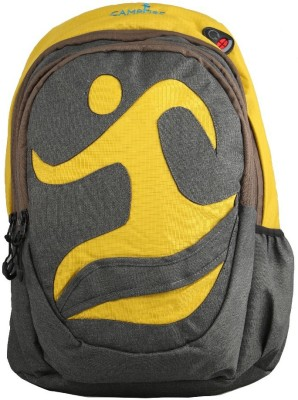 Campfire load runner Waterproof Backpack(grey yellow, 38 L)  available at flipkart for Rs.1940