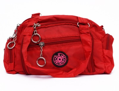 Zakina Hand-held Bag(Red)  available at flipkart for Rs.142