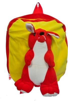 Arip School Bag(Red, Yellow, 14 inch)