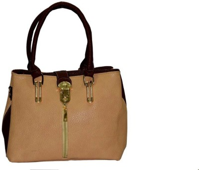 SNYTER SHOULDER BAG Shoulder Bag(Beige, Brown, 10 inch)