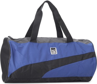 Puma SoleBarrelBag surf the web School Bag(Blue, Black)