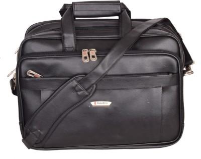 Sapphire 17 inch Laptop Messenger Bag Black Sapphire Laptop Bags