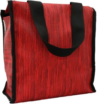 Marine Pearl MP LBSQ02RD Waterproof Lunch Bag Red, 11 inch