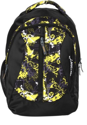 Justcraft Waterproof Backpack(Yellow, 25 L)