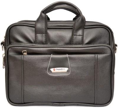 Sapphire 13 inch Laptop Messenger Bag Black Sapphire Laptop Bags