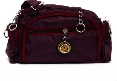 Zakina Hand-held Bag(Maroon)  available at flipkart for Rs.155