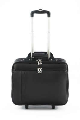 Mbossgifts Overnight Strolley Laptop Bag(Black)