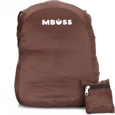 Mboss M400058 Rain Cover For Laptop Bag(Brownb301)