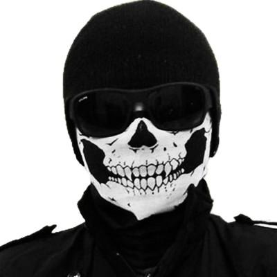 e67962dc46d Jonty Black Bike Face Mask for Men   Women(Size  Free