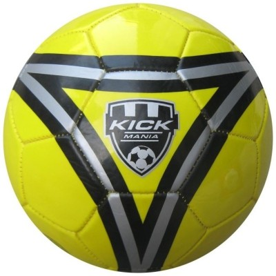 Speed Up Kick Mania Football   Size: 5 Pack of 1, Yellow