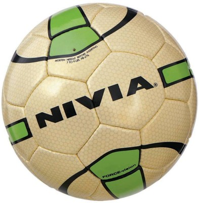 Nivia Force Vision II Football -   Size: 5(Pack of 1, Gold)