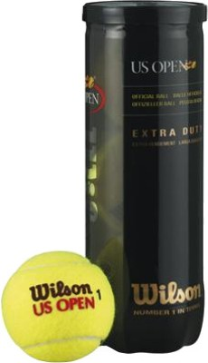 Wilson US Open TB Tennis Ball -   Size: Standard(Yellow)  available at flipkart for Rs.380