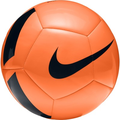 Nike Pitch Team Football -   Size: 5(Pack of 1, Orange) at flipkart