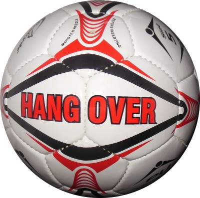 Prokyde HangOver Football   Size: 5 Pack of 1, Red, White Prokyde Footballs